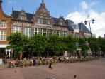 The Grote Markt of Haarlem