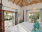 Mermaids Suite with ensuite bathroom and private patio.
