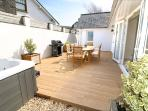 Longboards Croyde Holiday Cottages Decking