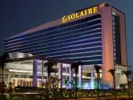 The Solaire Casino is a mere 3-minute ride away. Solaire also provides free bus rides to and from Ma