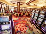 The game area at Solaire