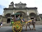 Manila Cathedral - 15 to 20 minutes ride