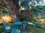 Patio Garden - lower ground floor
