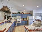 Big, bright, inviting kitchen