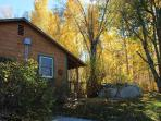 Elani Lodge in the Fall
