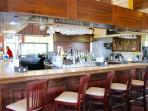 Bar with many drink specials on a daily menu!