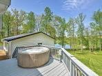 Enjoy this private hot tub after a day of exploring the nearby attractions.