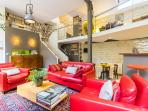 Living Room, kitchen, mezzanine
