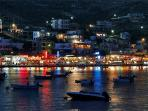 Agia Pelagia by night