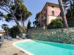 Villa Edoardo  from the pool