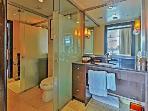 Separate 2 sink bathroom