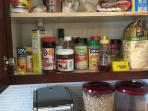 food for use in cabinets