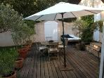 Private garden ensuite to bedroom #6