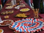French National Day Aperitif offered by the village