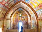 Chiesa di San Pellegrino a Bominaco distanza 70 minuti di macchina