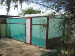 Recently we made a green house for....