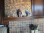 détail de la cuisine -