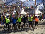 At Kunzum La ....cycle tour from the cottage