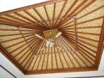 Plafond du salon