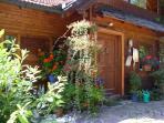 Der Zugang zum Wohnbereich der Eigentümer