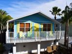 Comfortable Beach cottage just 300 yards from the Gulf of Mexico