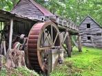 Dillinger Gist Mill in Bakersville