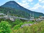 Grandfather Mountain swinging bridge