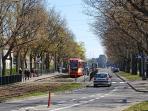 tram stop 20 meters