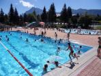 les Carroz swimming pool aquacime