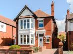 In a quiet tree lined road in central St Annes only a three minute walk away from all amenities