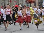 Annual Kilt Run; the largest in the World!