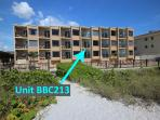 Complex photo of exact location of Belleair Beach Club 213 in Belleair Beach, FL