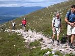 trek up the mountains, plenty of paths all around Aviemore.