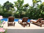 Sunlounger areas