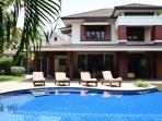with private swimming pool