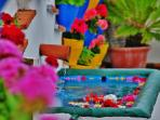 Cordoba province is famous for its flower-filled patios