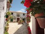 Lovely Priego de Cordoba is just a short drive from Cortijo La Presa