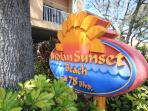 Indian Sunset Beach #7 is located in Indian Rocks Beach, Florida on Gulf Blvd