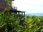 Spectacular view and lush gardens surround the villa!