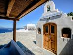 Mykonos Art Villas St Nickolas Church front