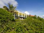 Mature landscape provides privacy and a tropical paradise