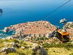 Dubrovnik and the Cable Car to Srd.