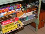 Lots of games and puzzles