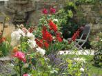 Septembre avec le retour de chaleur moins dure, redonne à nos parterres de fleurs donne la puissance