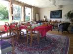 La salle des petits déjeuners.