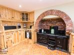 Bespoke handmade Kitchen with original Joseph Blair cast iron range