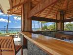 Enjoy the View from the Beachfront Bar