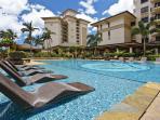 Beach Villas version of the 'Pool Lounger'
