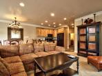 Large Living area/tv