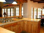Open kitchen perfect for families and friends
